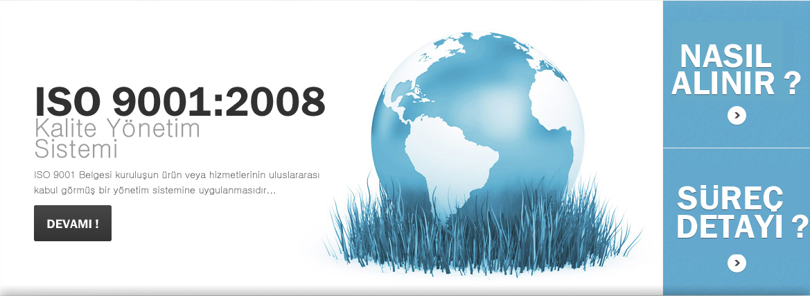 ISO 9001:2008 Kalite Y�netim Sistemi