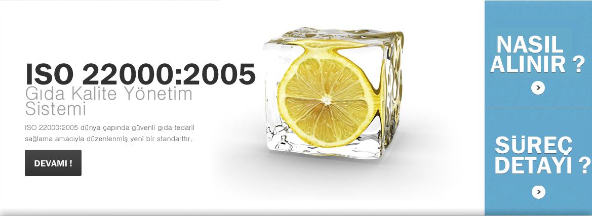ISO 22000 G�da Kalite Y�netim Sistemi