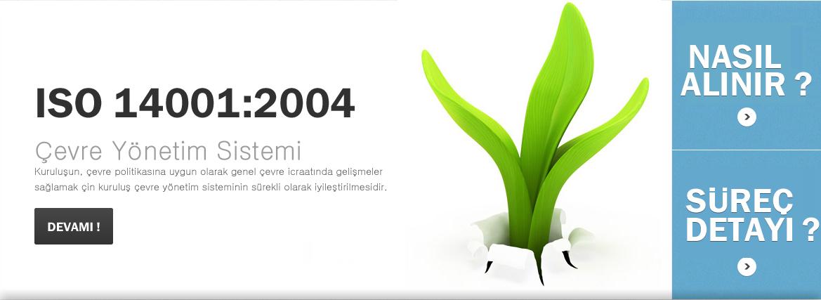 ISO 14001 �evre Y�netim Sistemi